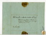 Конверт письма, отправленного на Златоустовский завод купца А.А.Кнауфа
