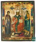 Икона «Господь Вседержитель с предстоящими»