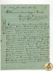 Письмо А.А. Кнауфа в Златоустовскую контору из Миасской заводской конторы