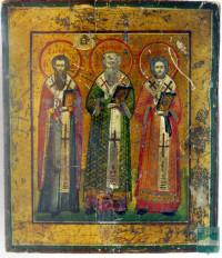 Икона «Три святителя»