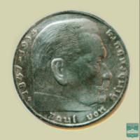 Монета 2 рейхсмарки
