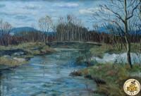 Река Ай. Весна.