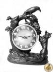 Часы «Ворона и лисица»