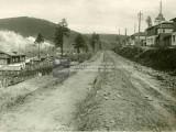Улица Генераторная. Строительство трамвайных путей. 1930-е годы.