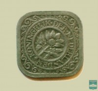 Монета 5 центов