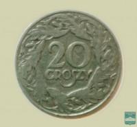 Монета 20 грошей