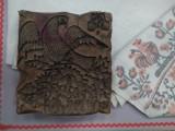Штамп проволочный для набойки рисунка на ткани.