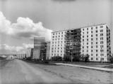 Улица Олимпийская. 1985 год.