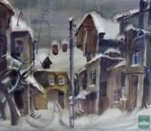 Свежий снег. Из серии «Пензенские дворы».