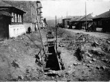 Улица им. В. Д. Ковшова. Постройка горводопровода. 1928 г.
