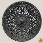 Тарелка ажурная с мотивами аканта