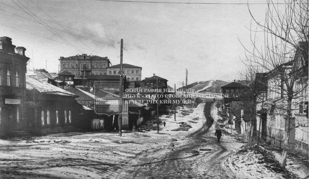 Улица Спорта, ныне улица Калинина.