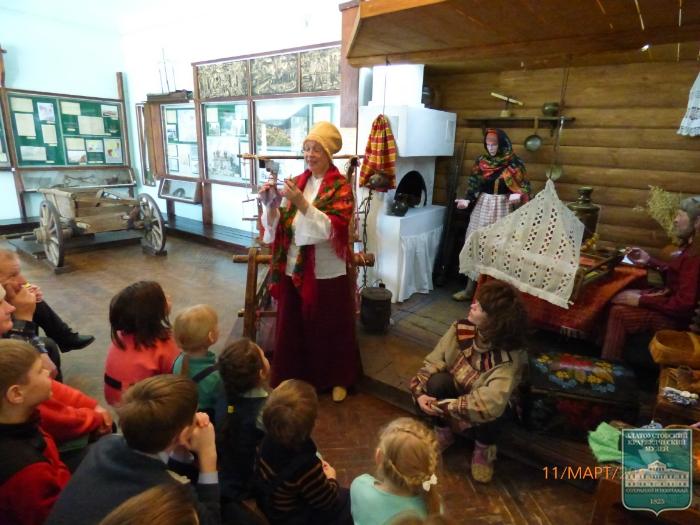 Этнографическое мероприятие «На дне  бабушкиного сундука»