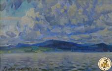 Этюд «На озере Тургояк»