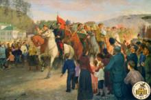Вступление частей Красной Армии в Златоуст. 13 июня 1919 г.
