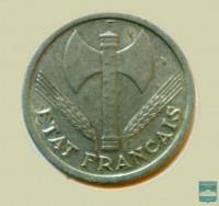Монета 2 франка