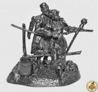 Скульптура «Свидание малороссов»