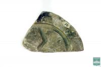 Обломок литейной формы для отливки бронзовой бляхи