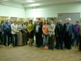 Открытие выставки Владимира Зозули «Цветы в квадрате»