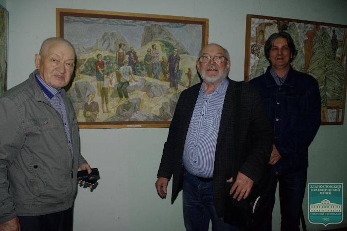 Открытие выставки Владимира Зозули «Камни художников»