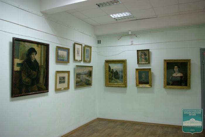 Русские художники в собраниях Златоустовского городского краеведческого музея